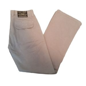 Luck Brand dungarees woman's taupe wide leg pants